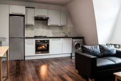 2 bedroom third floor loft convention flat,  Crouch End